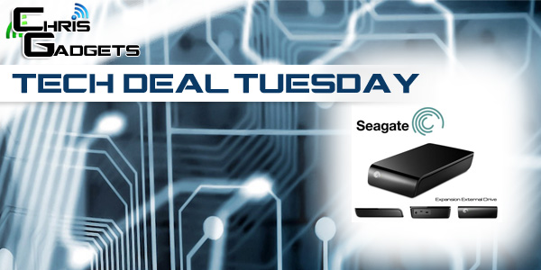 Tech Deal Tuesday Seagate External Hard Drive USB 3.0